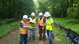 Loves Creek Greenway Construction Opens in Siler City
