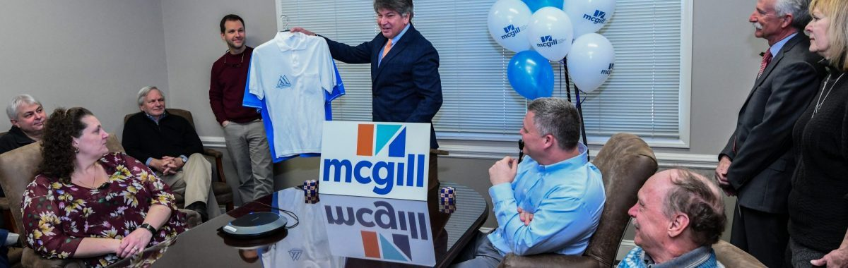 Joel Storrow presents old and new McGill logos