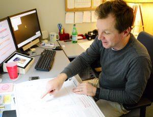 Dallas Gordon, Surveying Services Manager