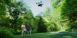 Surveying Profressionals with Drone
