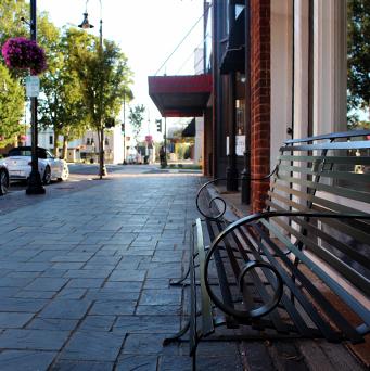 Newton North Carolina Downtown Streetscape