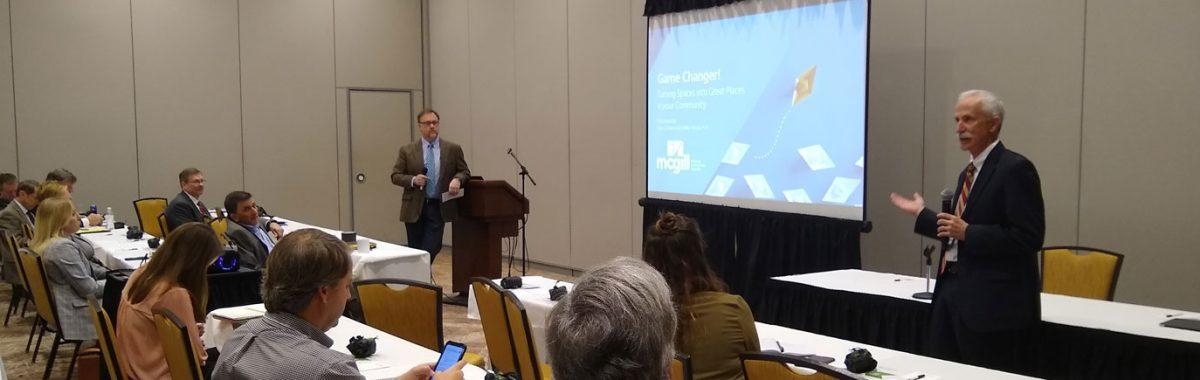 Mike Norris and Gary Jackson presenting at NCCCMA Winter Seminar