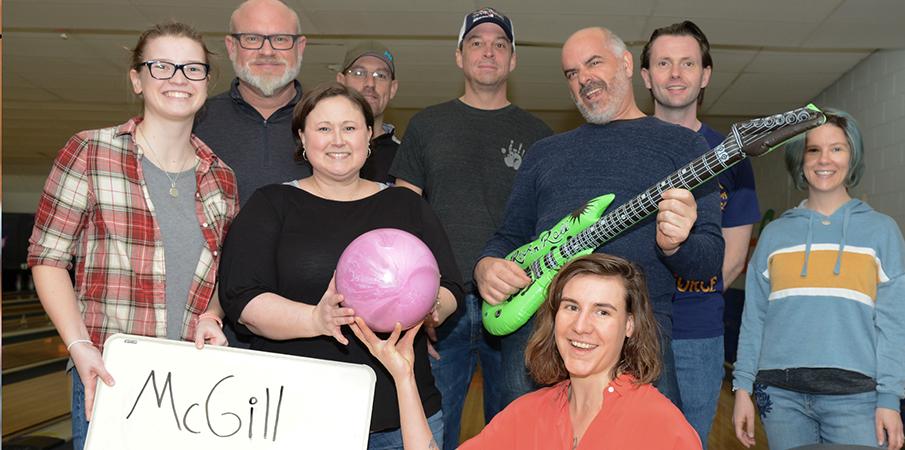 McGill Team at Bowl for Kids Sake Buncombe County