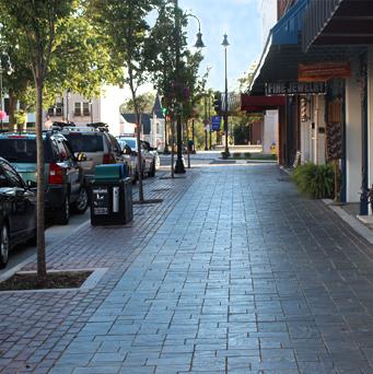 Newton Downtown Streetscape