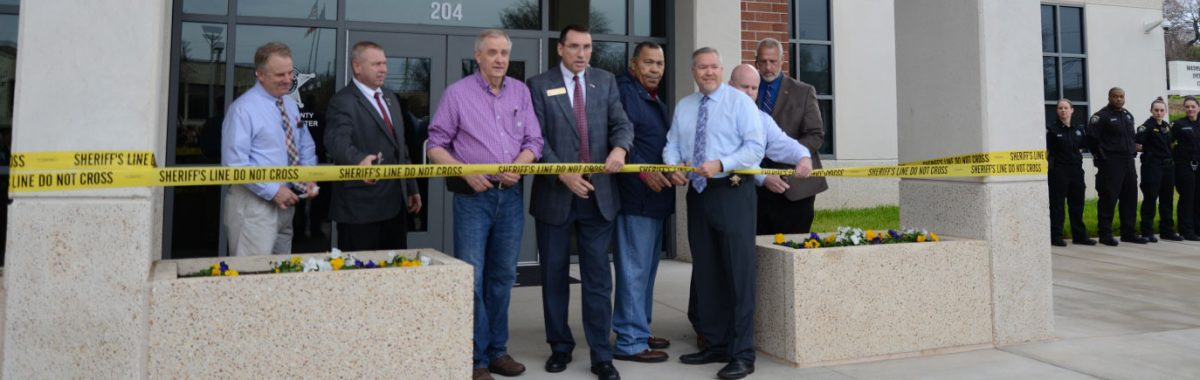 Iredell County Jail Ribbon Cutting