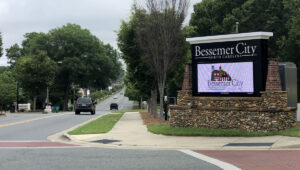 Bessemer City Implements Paver
