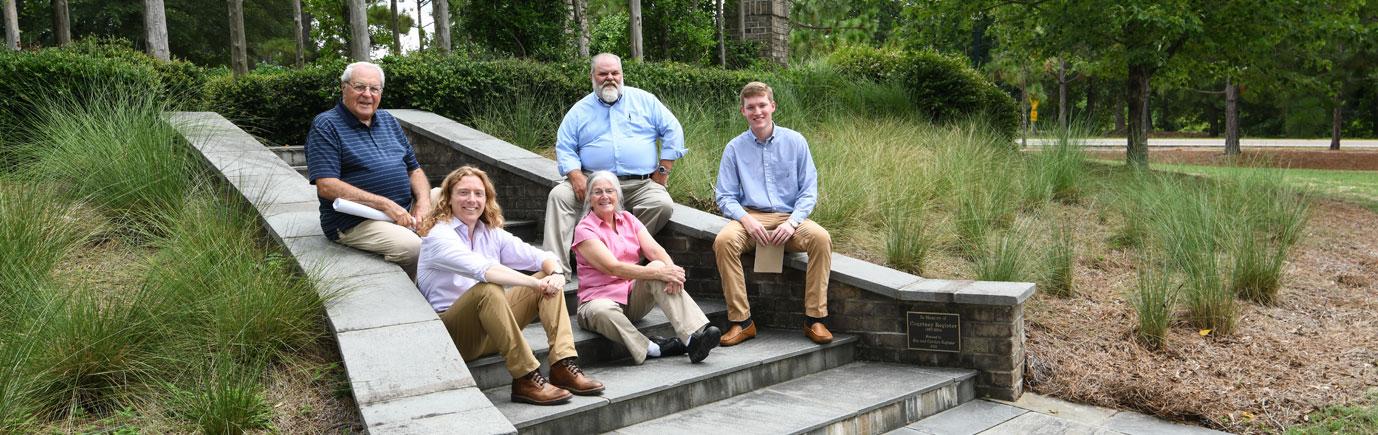 McGill Pinehurst Team on steps