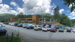 Parking Deck Concept for Town of Boone