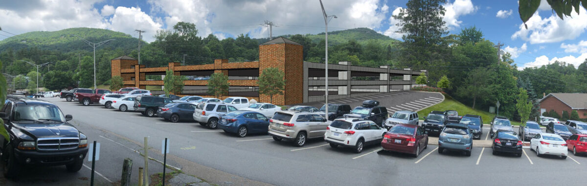 Boone Parking Deck Concept
