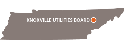Knoxville Utilities Board TN Map