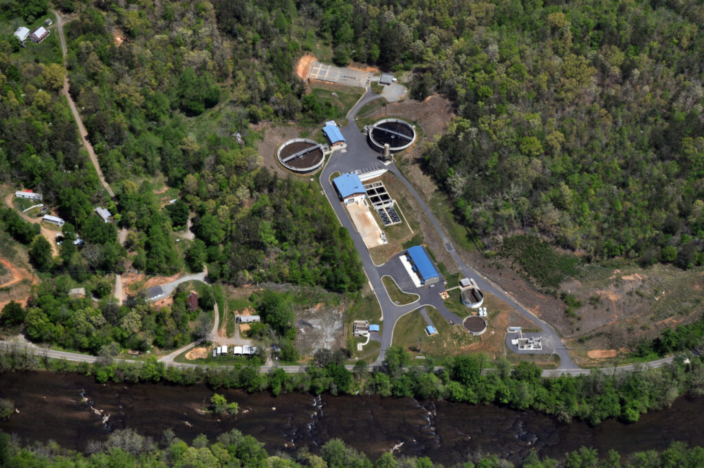 Tuckaseigee Water and Sewer Authority WWTP 1