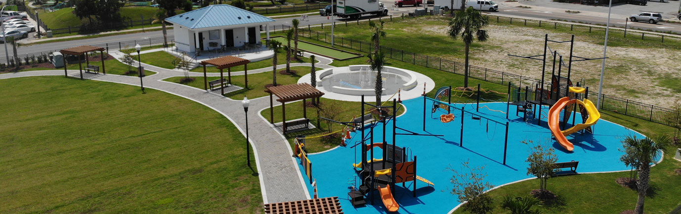Ocean Isl Beach Town Center Park