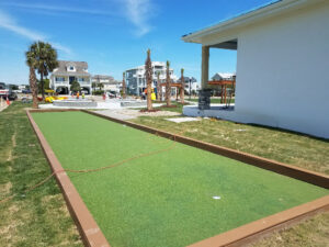 Ocean Isle Beach Town Park Under Construction