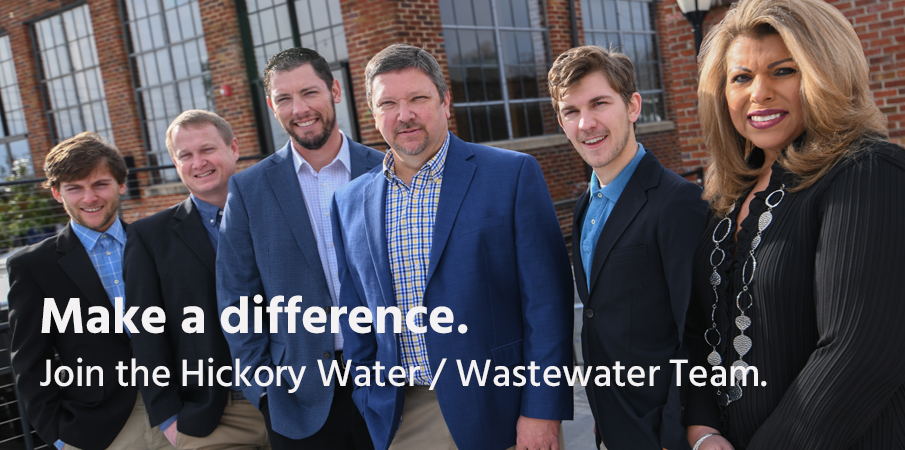 Hickory Water / Wastewater Team