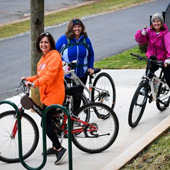 Thermal Belt Rail Trail Bikers