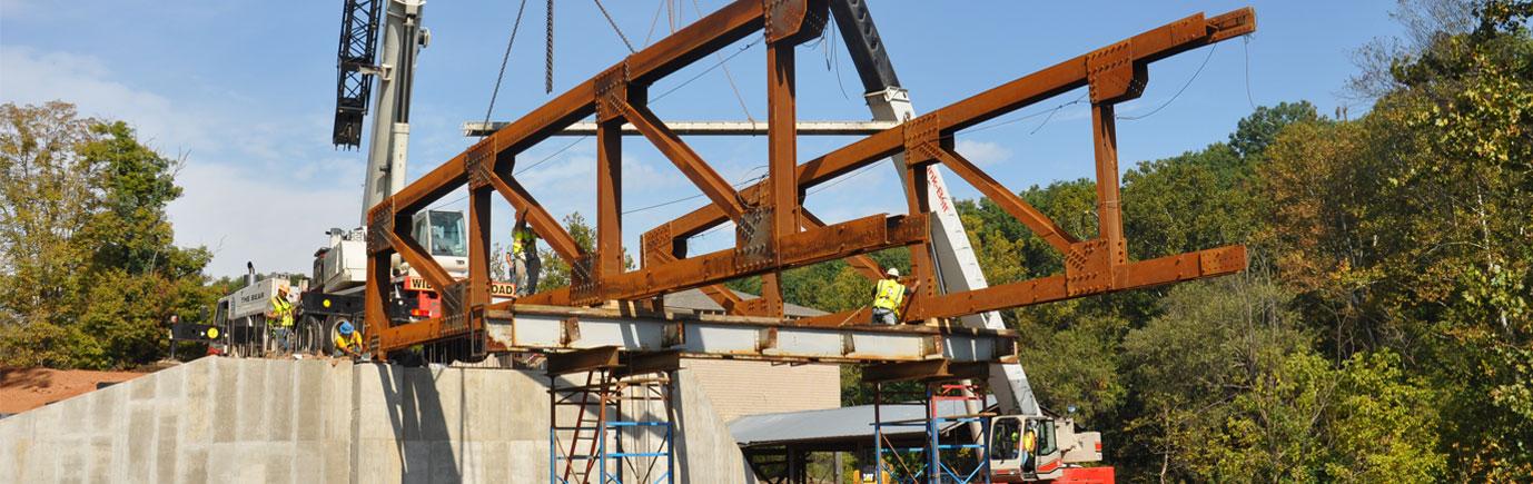 Azalea Road Bridge Construction