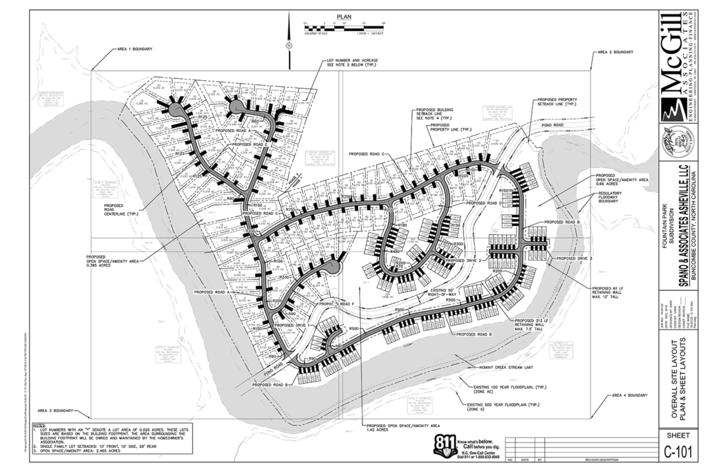Fountain Park Overall Site Plan