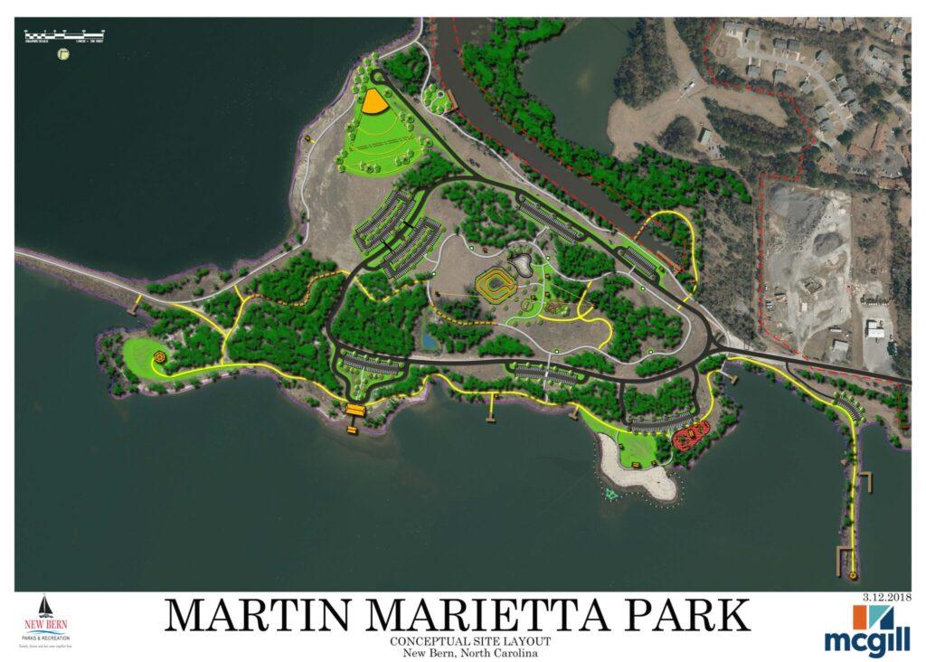 Martin Marietta Park Rendering