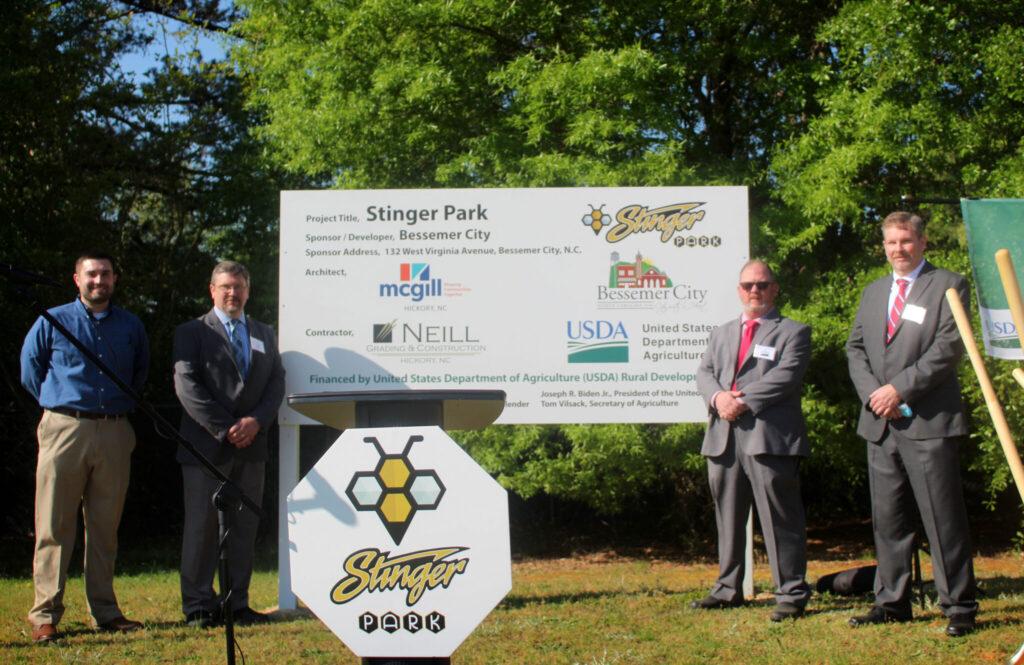 Stinger Park Groundbreaking