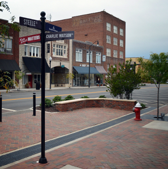 Downtown Streetscape, City of Sanford, NC