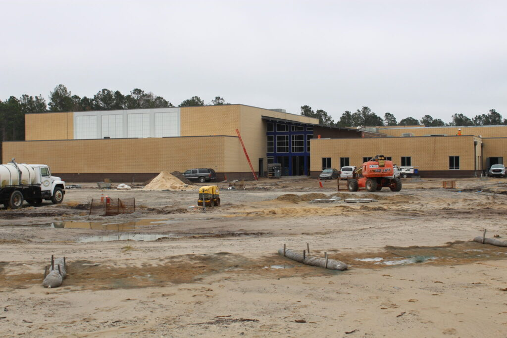 Town Creek Middle School Under Construction