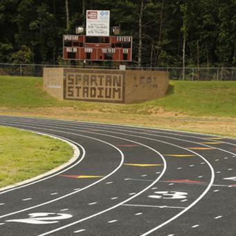 South Caldwell High School Track, Caldwell County