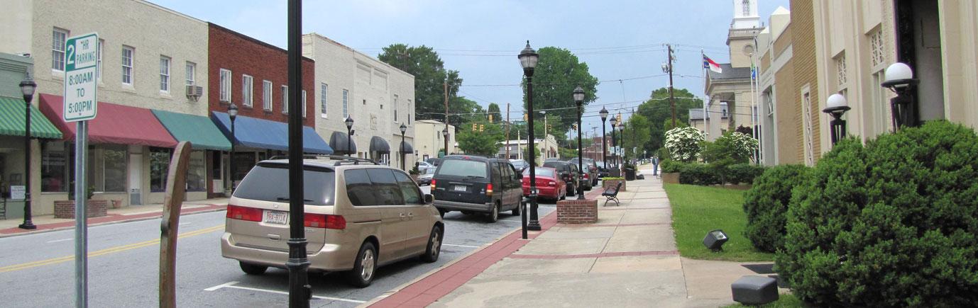 Downtown Lenoir NC