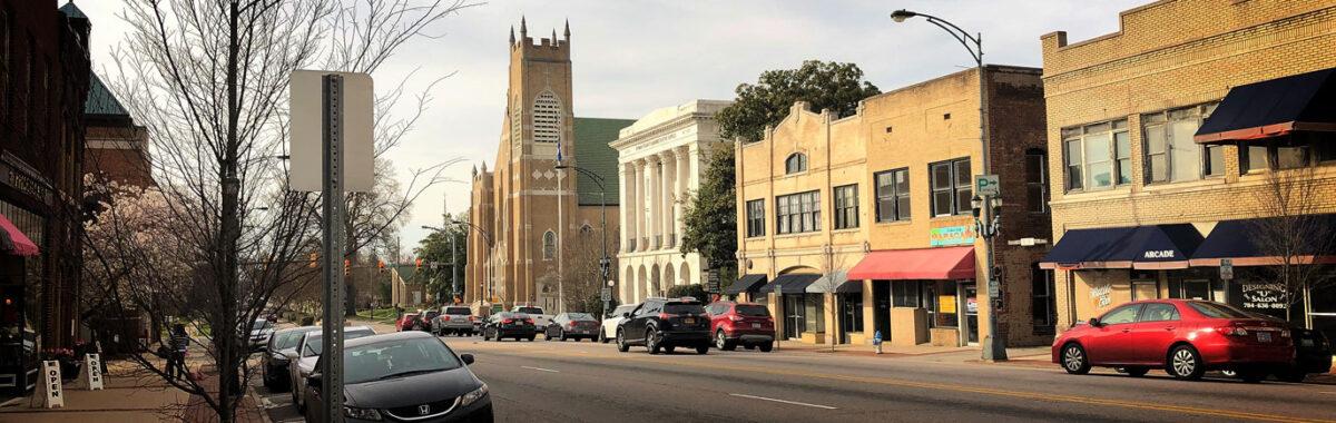 Salisbury downtown