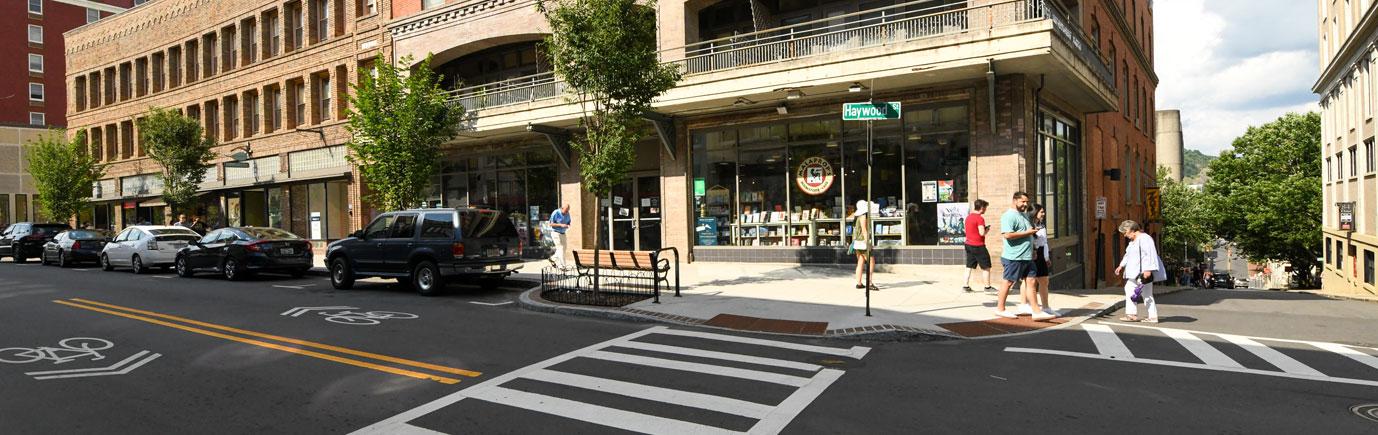 Haywood Streetscape
