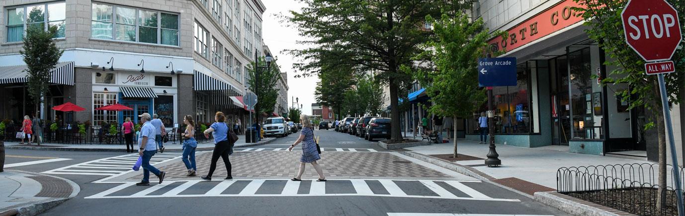 Haywood Streetscape Asheville