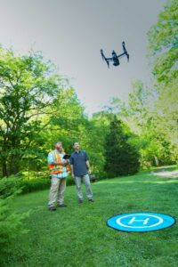 UAV Aerial Drone Imagery for the Fish Hatchery